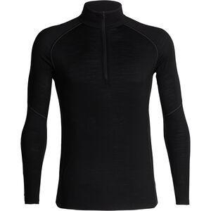 Icebreaker 150 Zone LS Half-Zip Shirt Herren black/mineral black/mineral