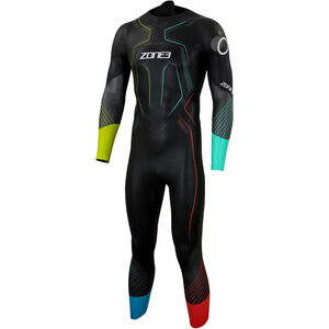 Zone3 Aspire Limited Edition Print Wetsuit Herren black/gun metal/multi black/gun metal/multi