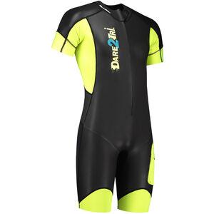 Dare2Tri Swim&Run Go Wetsuit Herren black/yellow black/yellow