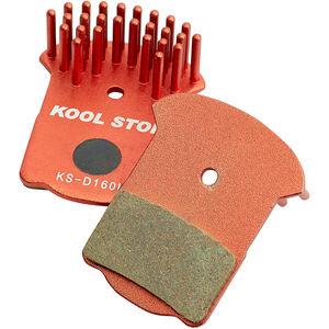 Kool Stop Disc Aero Bremsbeläge Magura MT2/MT4/MT6/MT8 rot rot