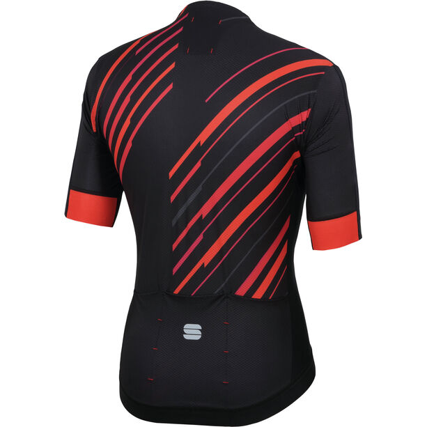 Sportful R&D Celsius Jersey Herren black/anthracite/red