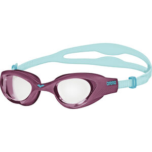 arena The One Goggles clear-purple-turquoise clear-purple-turquoise