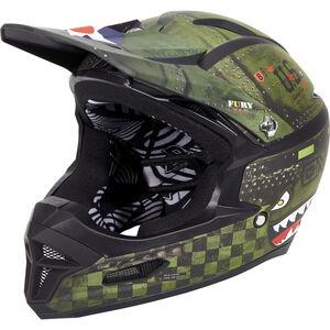 ONeal Fury RL Helmet WARHAWK black/green bei fahrrad.de Online