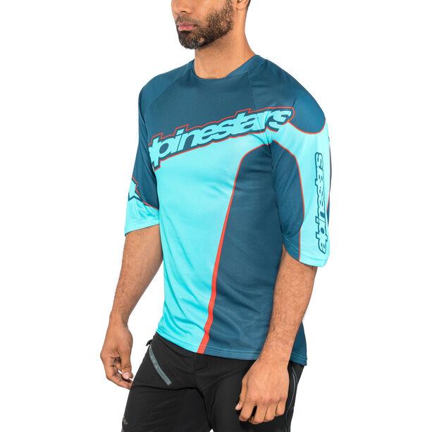 Alpinestars Crest 3/4 Jersey Herren poseidon blue/atoll blue
