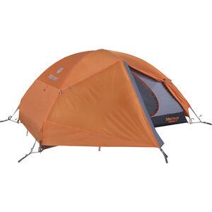 Marmot Fortress 2P Tent tangelo/grey storm tangelo/grey storm