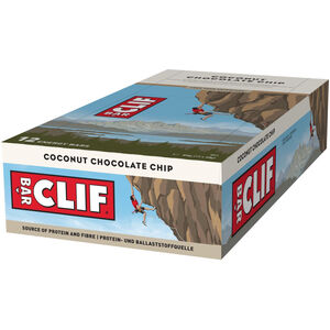CLIF Bar Energy Riegel Box 12x68g Coconut Chocolate Chip
