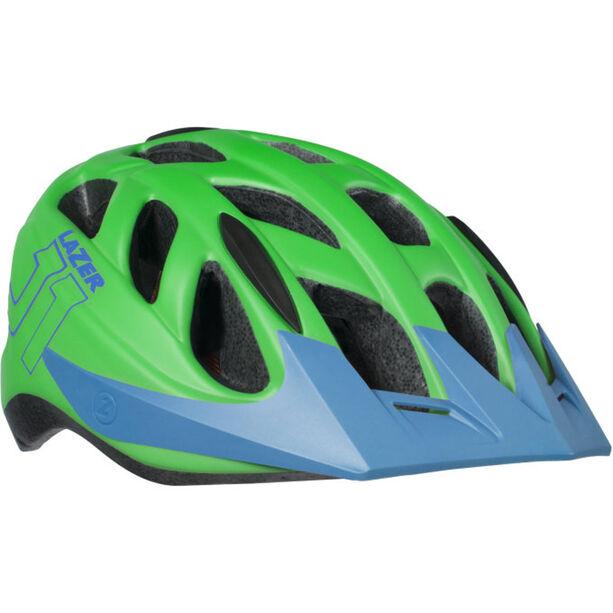 Lazer J1 Helmet Kinder matte green-blue