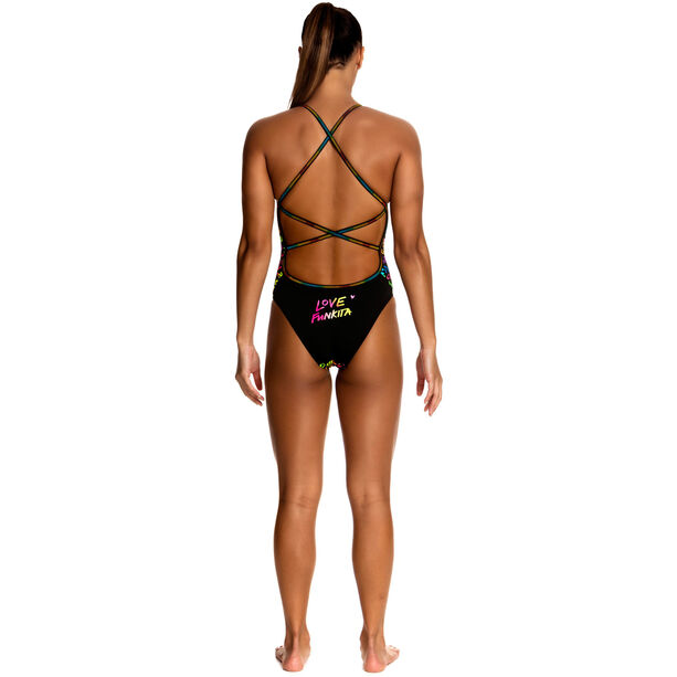 Funkita Strapped In One Piece Swimsuit Damen Love Funkita