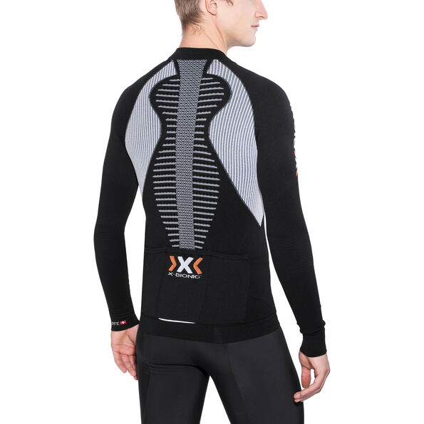 X-Bionic The Trick Biking Shirt LS Full-Zip Herren