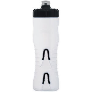 Fabric Cageless Bottle 750ml clear/black clear/black