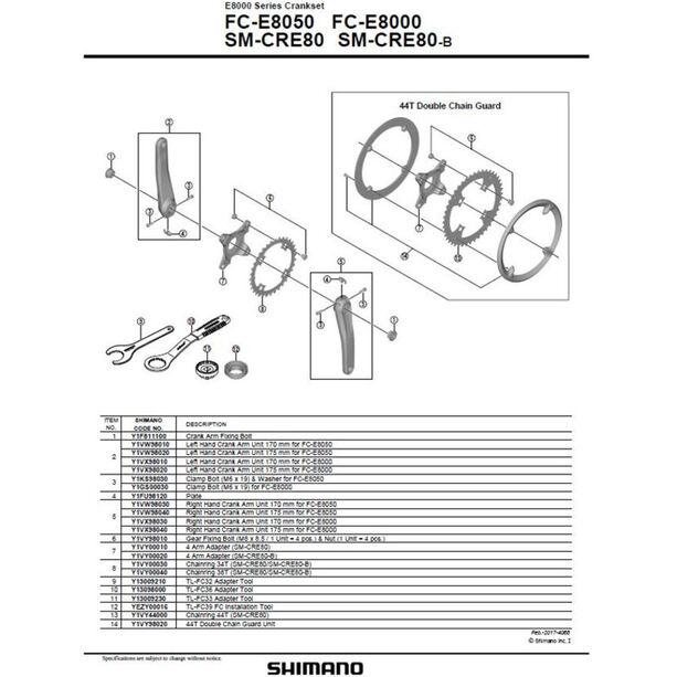 Shimano Steps FC-E8050 Kurbelarmset