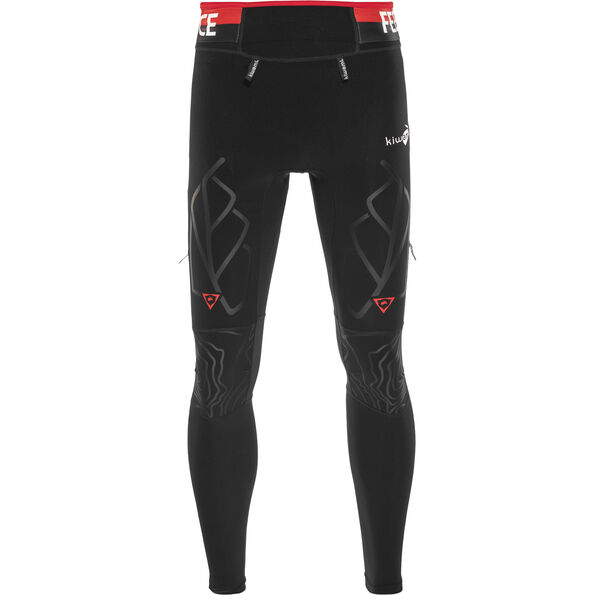 KiWAMi Equilibrium Trail Full Tights black/red