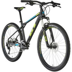 """GT Bicycles Avalanche Elite 27,5"""" Herren gloss gunmetal/cyan/black gloss gunmetal/cyan/black"""