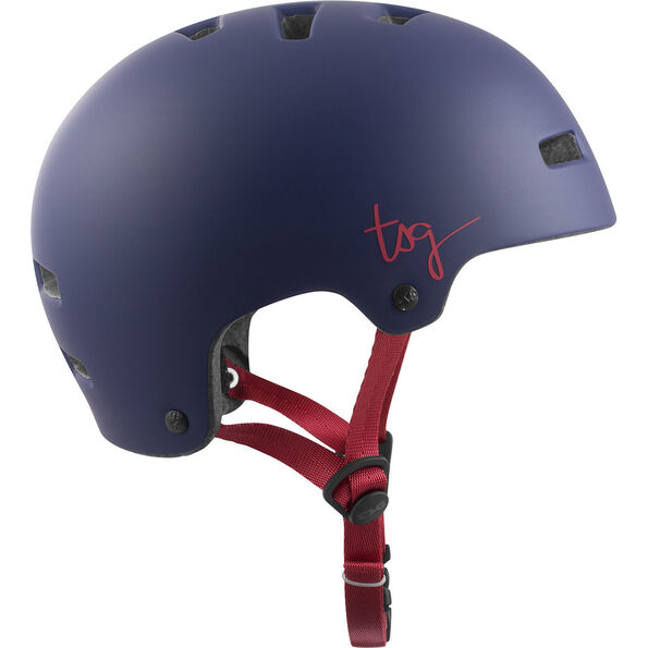 TSG Ivy Solid Color Helmet Damen satin grape satin grape