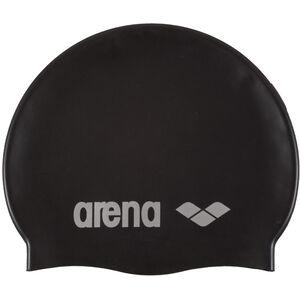 arena Classic Silicone Cap black-silver black-silver