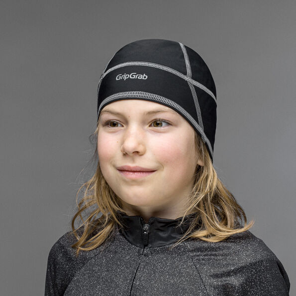 GripGrab Lightweight Thermal Skull Cap Kids Kinder