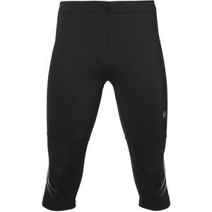 asics Icon Knee Tights Herren performance black/dark grey performance black/dark grey