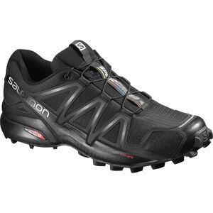 Salomon Speedcross 4 Shoes Herren black/black/black metallic black/black/black metallic