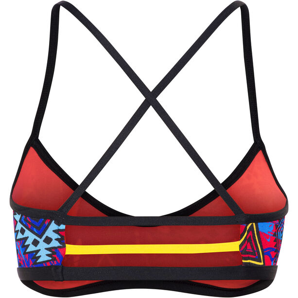 TYR Santa Ana Mojave Trinity Bikini Top Damen black/multi