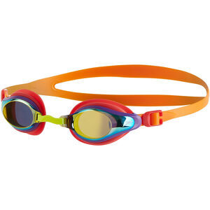 speedo Mariner Supreme Mirror Goggles Kinder jaffa/watermelon/gold jaffa/watermelon/gold