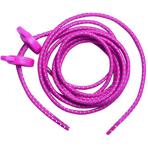 Zone3 Elastic Laces neon pink neon pink