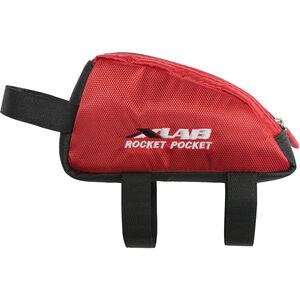 XLAB Rocket Pocket Frame Bag red red