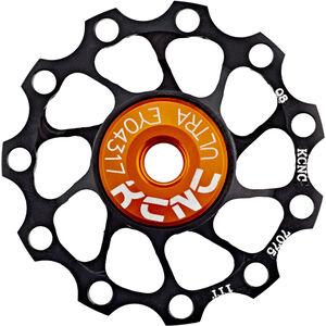 KCNC Jockey Wheel Ultra 11 Zähne SS Bearing schwarz schwarz