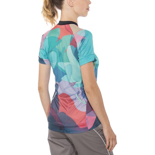Craft Velo Art Jersey Damen Galactic/Dahlia