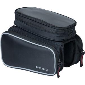 Basil Sport Design Doppeltseitige Rahmentasche 1,5l black black