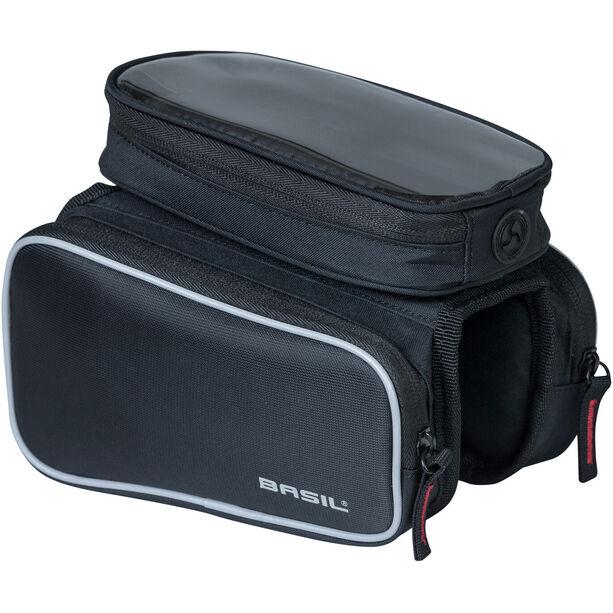 Basil Sport Design Doppeltseitige Rahmentasche 1,5l black