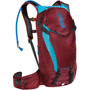CamelBak K.U.D.U. Protector 10 Backpack dry burgundy/lake blue dry burgundy/lake blue