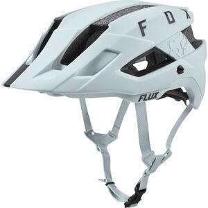 Fox Flux Solid Trail Helmet Herren iced iced