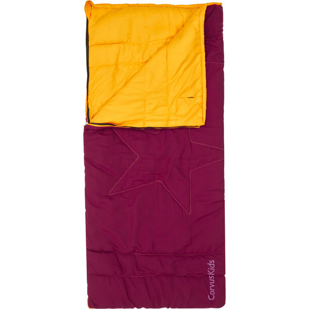 Outwell Champ Sleeping Bag Kinder beet red
