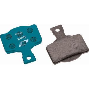 Jagwire Sport Organic Bremsbeläge für Magura MT7/MT5/MT Trail Front 1 Paar blau blau