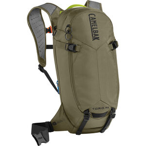 CamelBak T.O.R.O. Protector 14 Trinkrucksack Dry Burnt Olive/Lime Punch bei fahrrad.de Online
