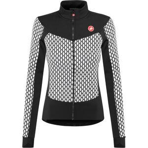 Castelli Sfida Full-Zip Jersey Damen white/black white/black