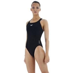 speedo Essential Endurance+ Medalist Swimsuit Damen black black