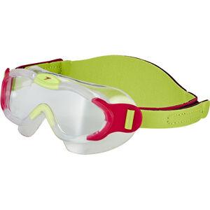 speedo Biofuse Sea Squad Mask Kinder passion pink/hydro green passion pink/hydro green