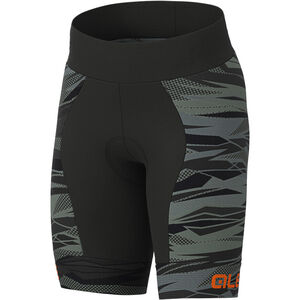 Alé Cycling Rock Shorts Kinder black/fluo orange black/fluo orange