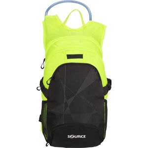 SOURCE Fuse Air Trinkrucksack 3+9l black/florescent yellow black/florescent yellow