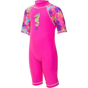 Zoggs Sea Unicorn Sun Protection Suit Mädchen pink pink