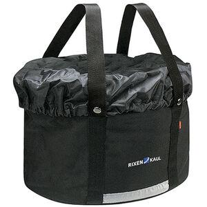 KlickFix Shopper Plus Fahrradtasche schwarz schwarz