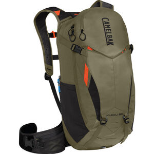CamelBak K.U.D.U. Protector 20 Trinkrucksack dry burnt olive/laser orange dry burnt olive/laser orange