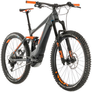 Cube Stereo Hybrid 140 TM 500 Grey'n'Orange bei fahrrad.de Online