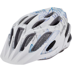 Alpina FB 2.0 Flash Helmet Jugend white floral white floral