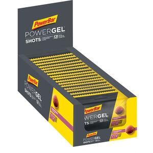PowerBar PowerGel Shots Box 16x60g Raspberry