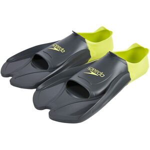 speedo Biofuse Training Fins Oxid Grey/Lime Punch bei fahrrad.de Online