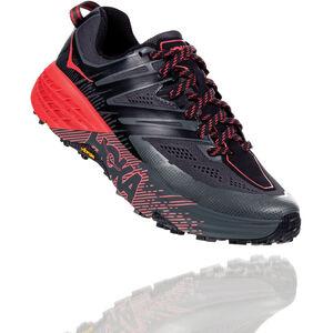 Hoka One One Speedgoat 3 Running Shoes Damen dark shadow/poppy red dark shadow/poppy red