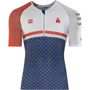 Compressport TR3 Aero Top Ironman 2017 Herren blue blue