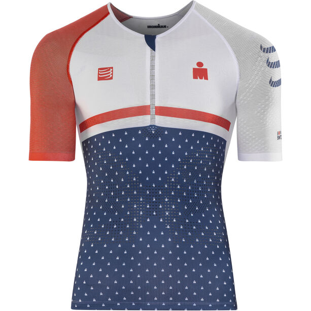 Compressport TR3 Aero Top Ironman 2017 Herren blue